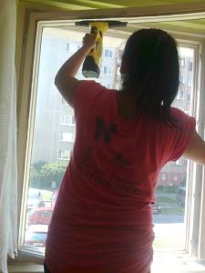 Čistenie okien