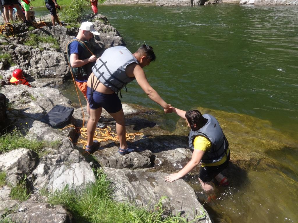 Outdoor tréning – Splav Dunajca 9.6.2017