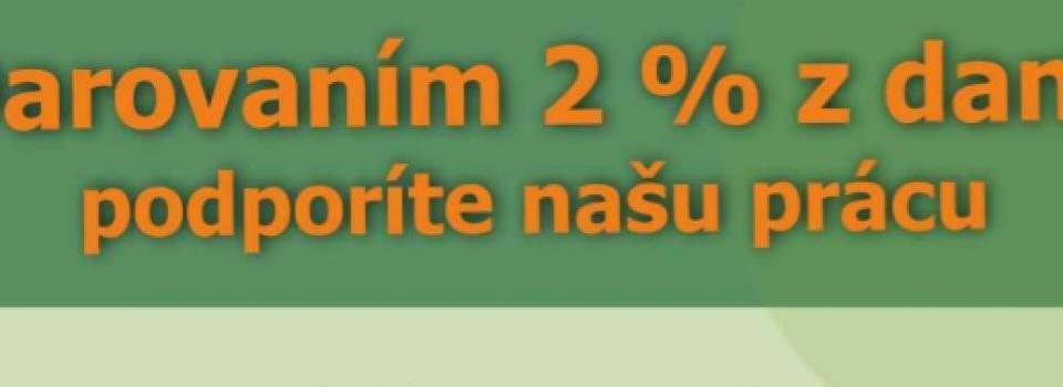 daruj 2%